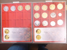 The Netherlands – lot of medals with various themes (sixteen medals), including silver