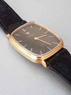 Paul Picot Levrette watch - Swiss quartz movement, 7 jewels - Very elegant.