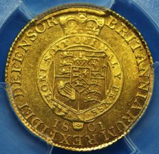 United Kingdom - ½ Guinea 1801 George III - gold