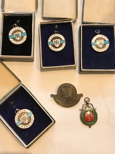 Large collection of estate silver hallmarked jewels