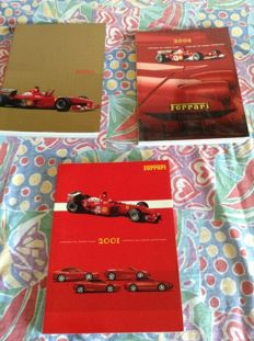 Lot of 3 Ferrari Yearbooks - 2000-2001-2002