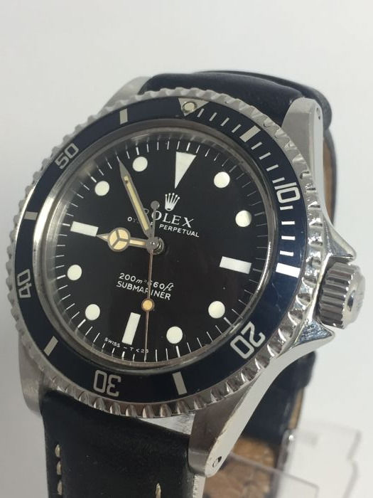 Rolex Submariner 5513 Cornino, first, 200 metres -Men's watch - Year 1963.