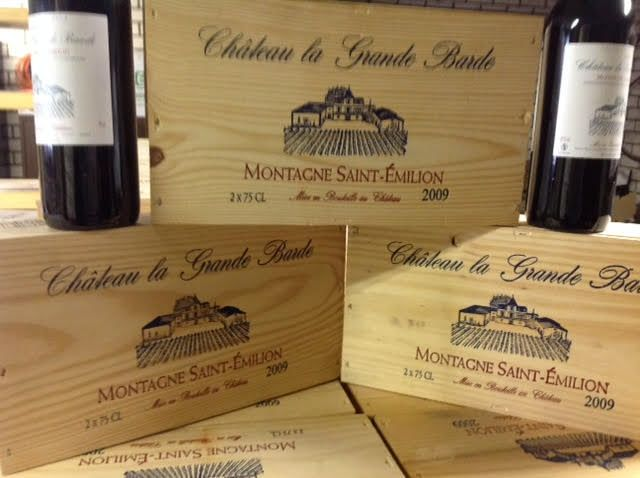 2009 Château La Grande Barde Saint Emilion-6 bottles (750 ml) in 3 boxes of 2 bottles