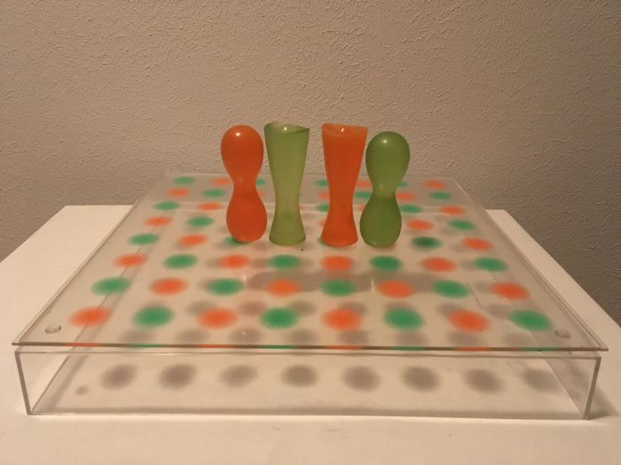 Karim rashid chess set limited edition catawiki - Karim rashid chess set ...