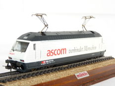 "Trix H0 - 22582 - Electric locomotive ""Ascom"" Re 460 of the SBB CFF FFS"