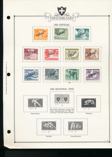 Switzerland 1940/1976 - collection service and international organisations