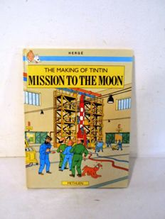 Tintin - The making of Tintin - Mission to the moon - hc - 1e druk (1989)