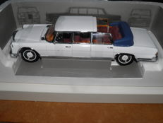 Sun Star - Scale 1/18 - Mercedes-Benz 600 1966 Laundet - White