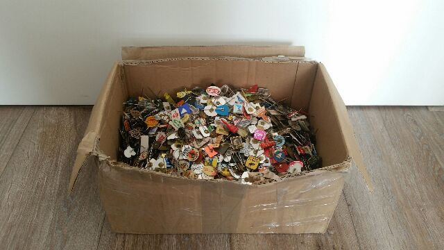 Collection of old pins total ca 3.5 kg