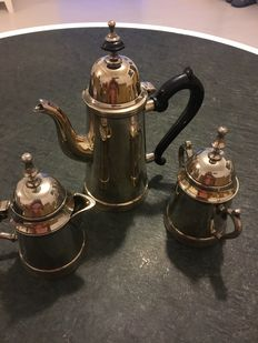 Teapots set IMF silver plated