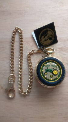 John Deere - collector's pocket watch 2001, Franklin Mint