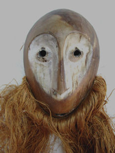 Very old LEGA Mask - Congo.
