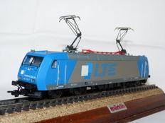Trix H0 - 22093 - Electric locomotive BR 185 of the Austrian company Logistik- und Transport (LTE )