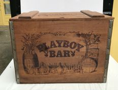 Playboy; Original Playboy Bar Chest - ca 1980