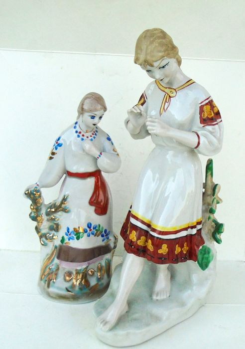 USSR Polonne Figurines (2x)