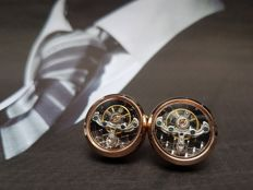 Cufflinks - Watch Mechanism