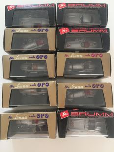 Brumm / Max Models - Scale 1/43 - Lot with 16 x Mercedes-Benz
