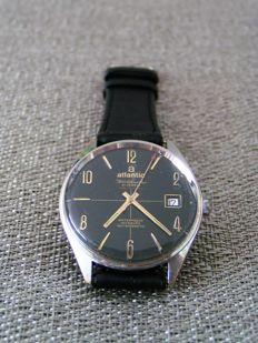 Atlantic — WORLDMASTER ORIGINAL — Men's watch — 1970-1979