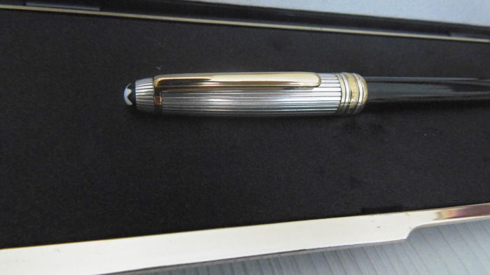 MONTBLANC Meisterstuck solitaire Doue M144 silver and gold