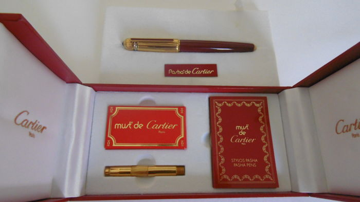 Pasha of Cartier Gold Nib 1988Ltd. Ltd