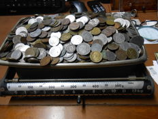 Kingdom of Italy - Lot of over 1250 coins (approx. 6.5 kg)