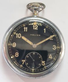 Helios pocket watch Wehrmacht of the German army of World War II - Switzerland ,1940s