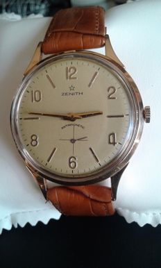"""ZENITH"" Padellone di Stellina, men's wristwatch from the 1950s. Accurately and professionally restored"