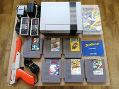 Nintendo NES with Super Mario Bros 1/2/3, and the rare games Kirby's Adventures, Ducktales 1 and the very RARE Ducktales 2 with box!