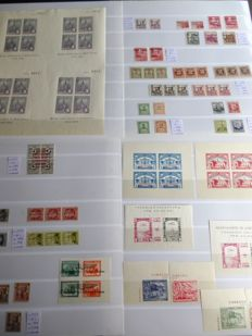 Spain 1936–1939 – Civil War. Lot with patriotic and local stamps.