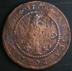 Portugal – 1 macuta – José I – 1770 – Colony of Angola
