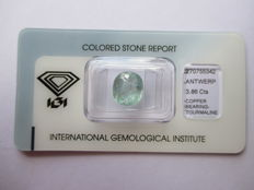 Paraiba Tourmaline  - 3.86 ct - No Reserved Price