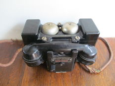 Bakelite field telephone - first half of the 20th century - England