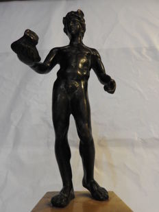 Rare bronze sculpture representing Mercury - Italy - 18th century