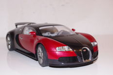AUTOart-Signature - Scale 1/18 - Bugatti Veyron 16.4 - Red / Black