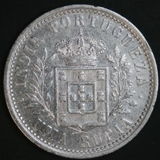 Portugal – 1 Rupia in Silver – Carlos I – 1903 – Portuguese India – Uncirculated