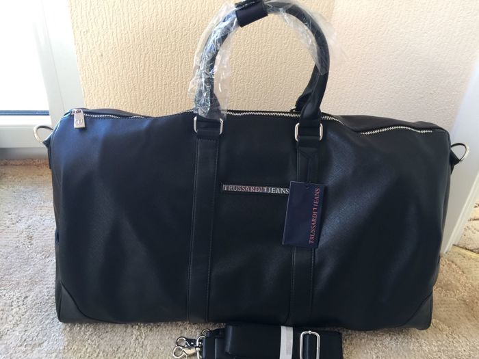 Trussardi - Travel bag .New . No Reserve Price .