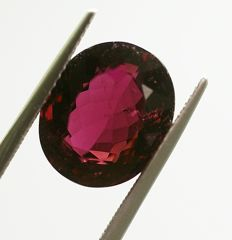 Tourmaline,purple,  6.81ct