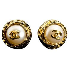 CHANEL - earrings 1995 *** No Reserve Price***