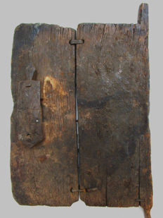 Heavy mil granary door - DOGON - Mali.