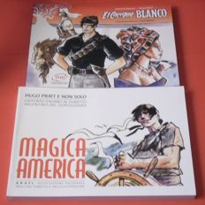 "Pratt, Hugo - 2x volume ""El cacique blanco "" and ""Magica America"" (2014-16)"