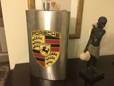 "Rare & Exclusive. ""Little breast""-5 liters/178 oz. PORSCHE ad. Stainless steel/INOX . Not used. Signed. Limited series."