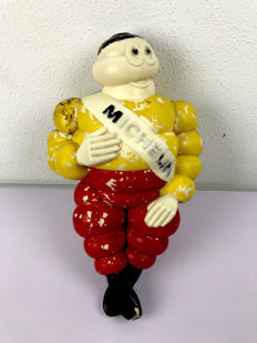 Michelin Bibendum Figure - 42 cm - 1960s - Belgian colours