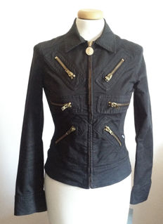 Rare Moschino  Jacket - Moschino Jeans - Cotton  Stretch Jacket - Made in Italy -