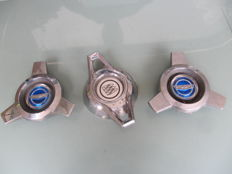 Three old Wheel spinners from the 1960s