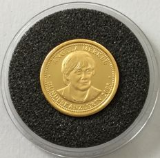 Germany - gold coin 'Angela Merkel' - 1 g gold