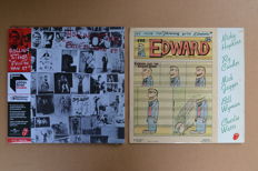 "2LP set - ""Exile on Main Street"" - Half Speed Mastering & ""Jamming with Edward"" - french pressing"