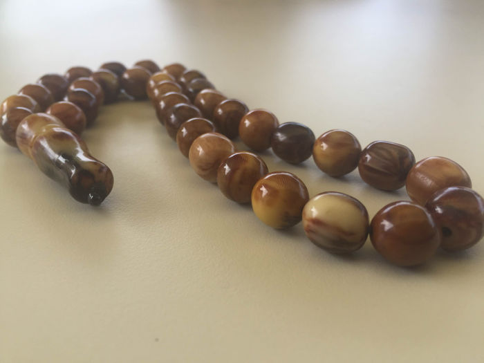 Antique bakelite prayer beads