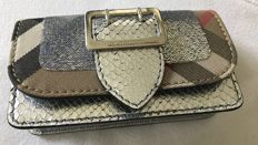 Burberry - Python & sequinned mini buckle bag - Limited edition