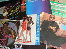 "Big pack: Nice Collection of 12"" Maxi Vinyls: Best Of The 80's: Funk/ Disco & Pop Classics"
