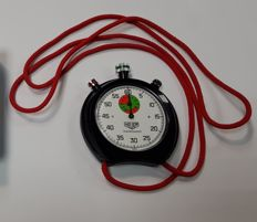 Stopwatch Heuer trackmaster - perfect working condition - in original box